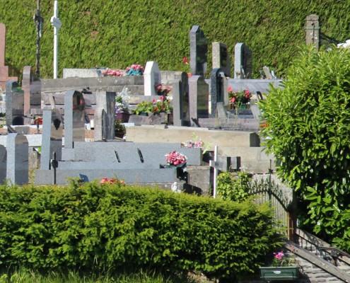 Le cimetière de Sainte-Suzanne-sur-Vire