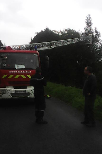 pompier grande echelle